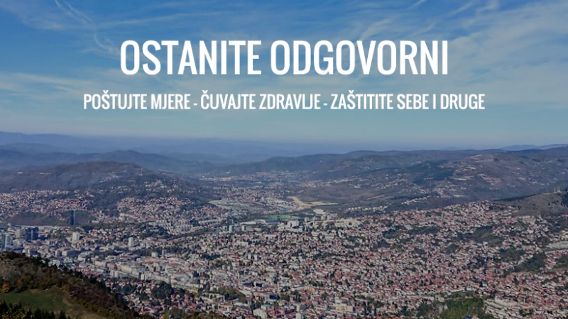 Od danas na snazi Naredba o restriktivnijim mjerama Kriznog štaba  Ministarstva zdravstva Kantona Sarajevo - Federalno ministarstvo zdravstva:  COVID19
