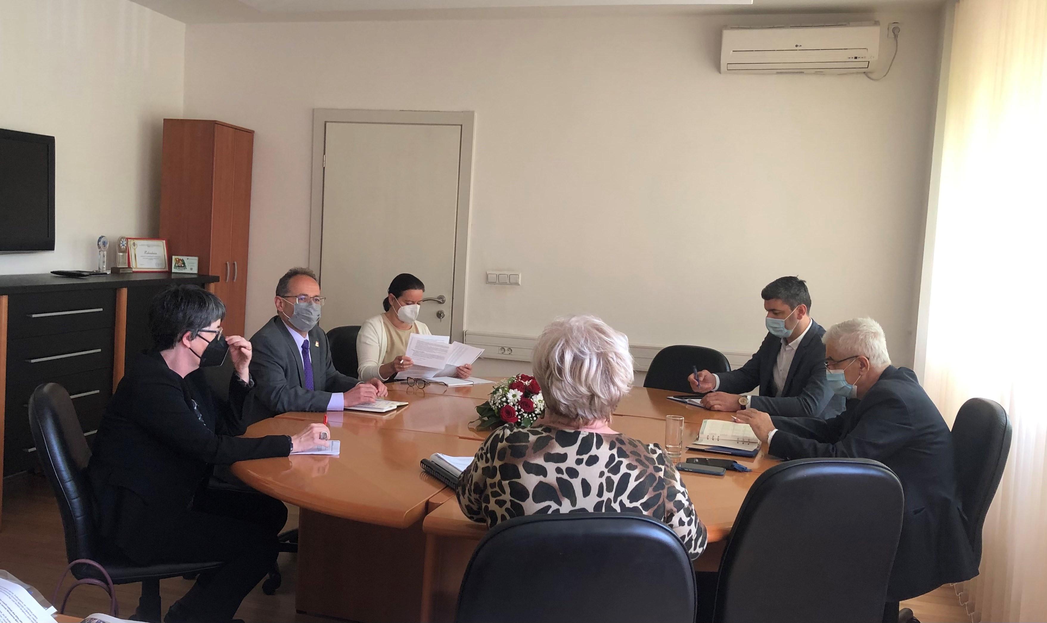 Dogovoren nastavak suradnje Federalnog ministarstva zdravstva i Ambasade Švicarske u BiH na projektima zdravstva